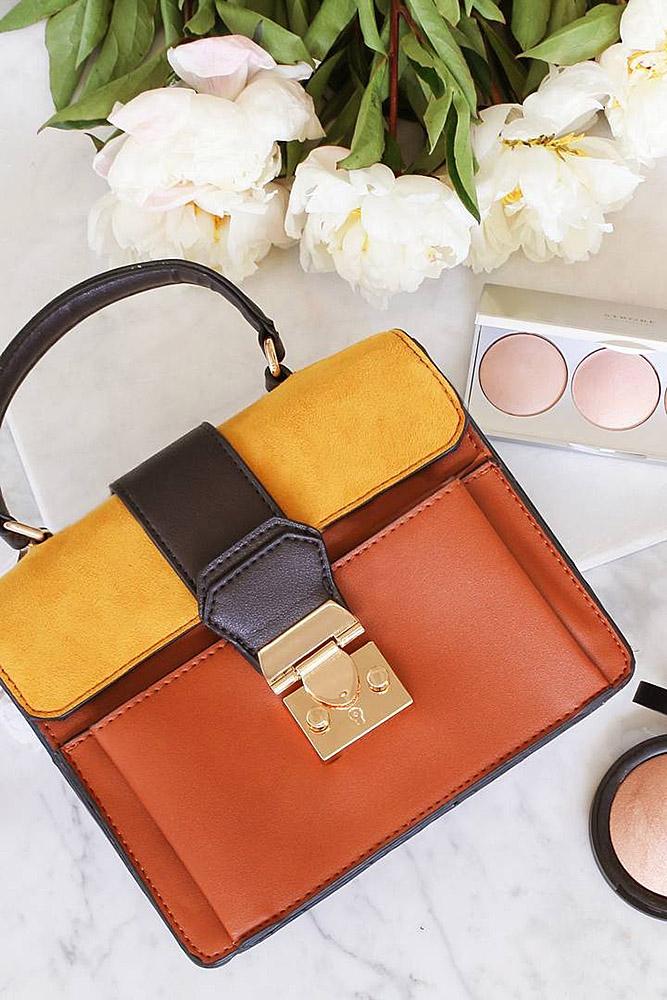 сумки женские желтая оранж