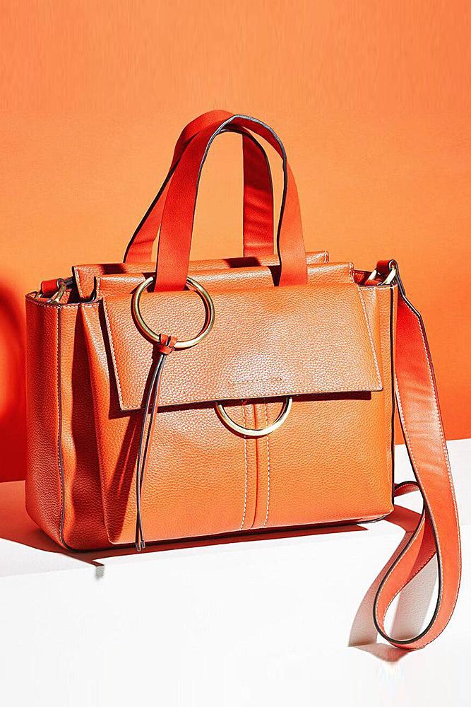 сумки женские оранж