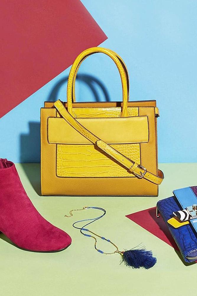 сумки женские желтая