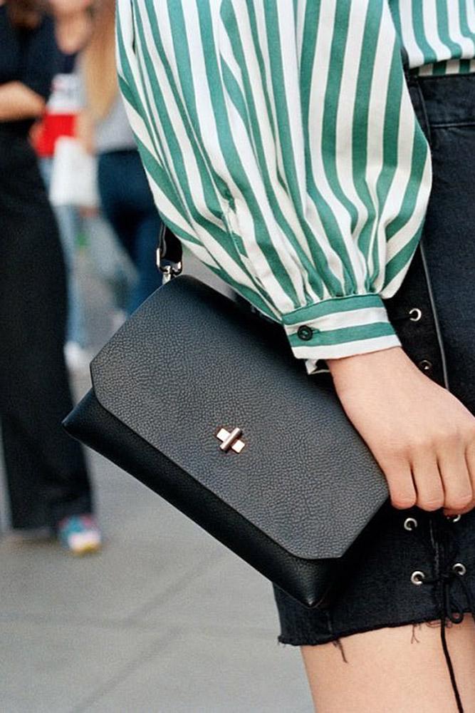 сумки женские черная маленькая