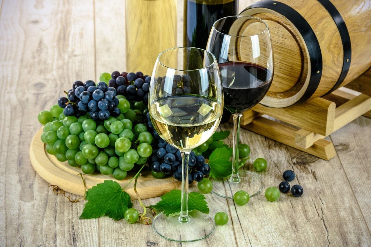 морщины на лице вино