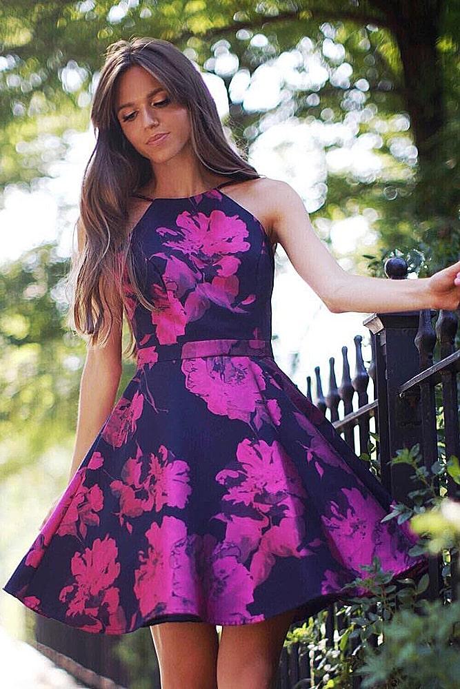 коктейльные платья платье с юбкой оборками