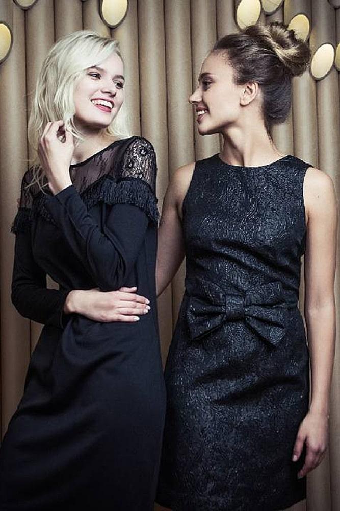 коктейльные платья черные платья