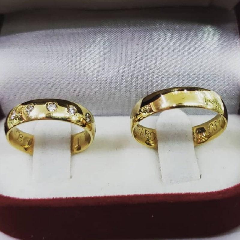 обручальные кольца joyeriacapriacero