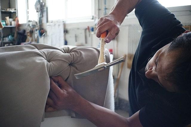 ремонт своими руками оббивка