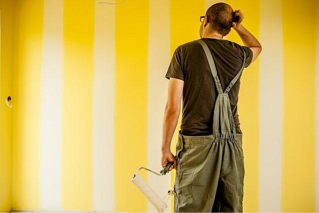 ремонт своими руками стена