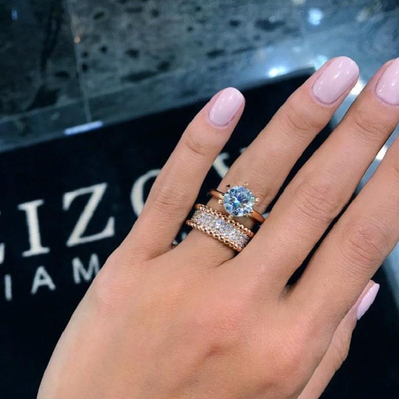 обручальные кольца zizovdiamonds 8