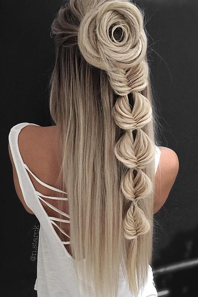 красивые волосы завитки
