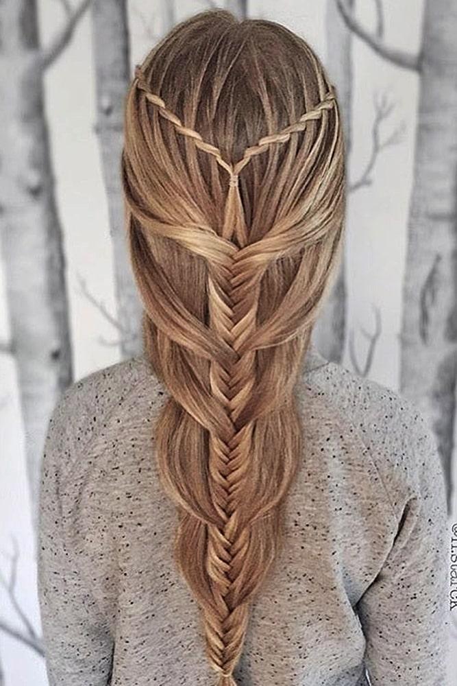 красивые прически коса мальвинка