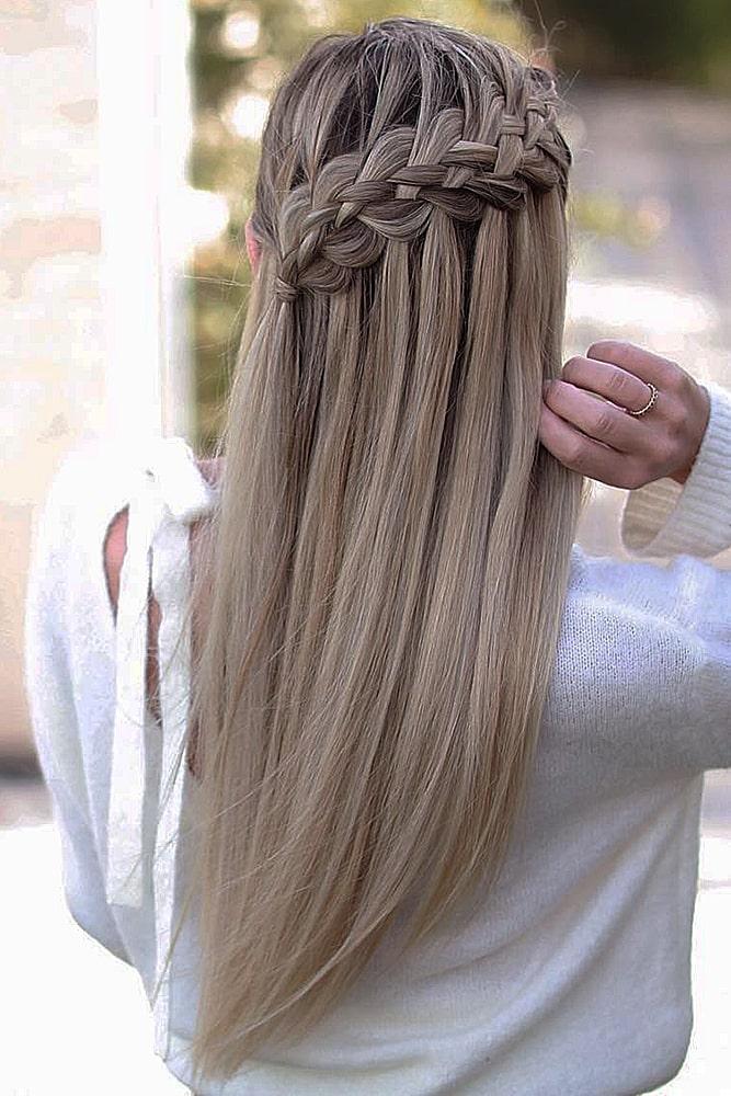 красивые прически коса