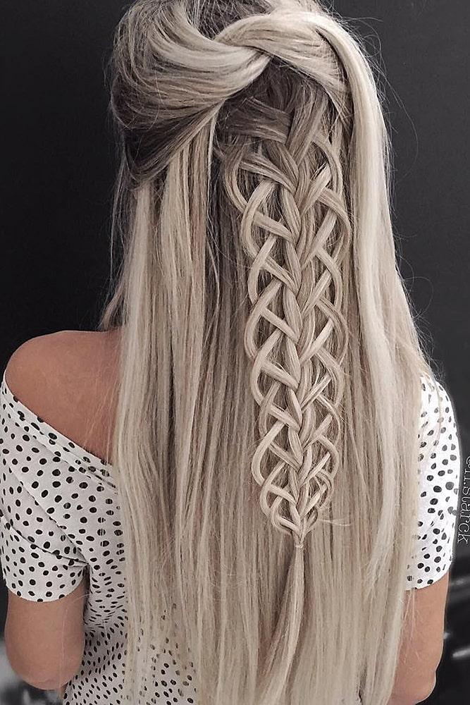 красивые прически узел коса