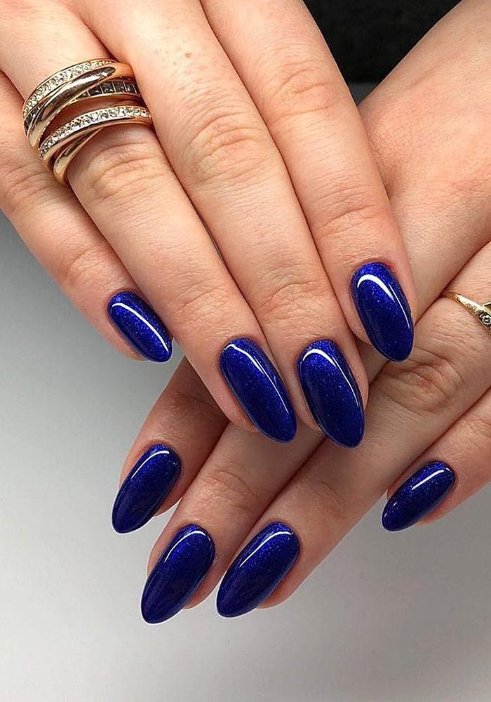 втирка для ногтей темно синий
