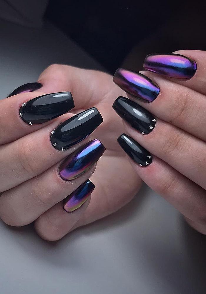 втирка для ногтей черный втирка