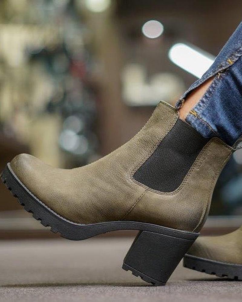 модная обувь ботинки болотные