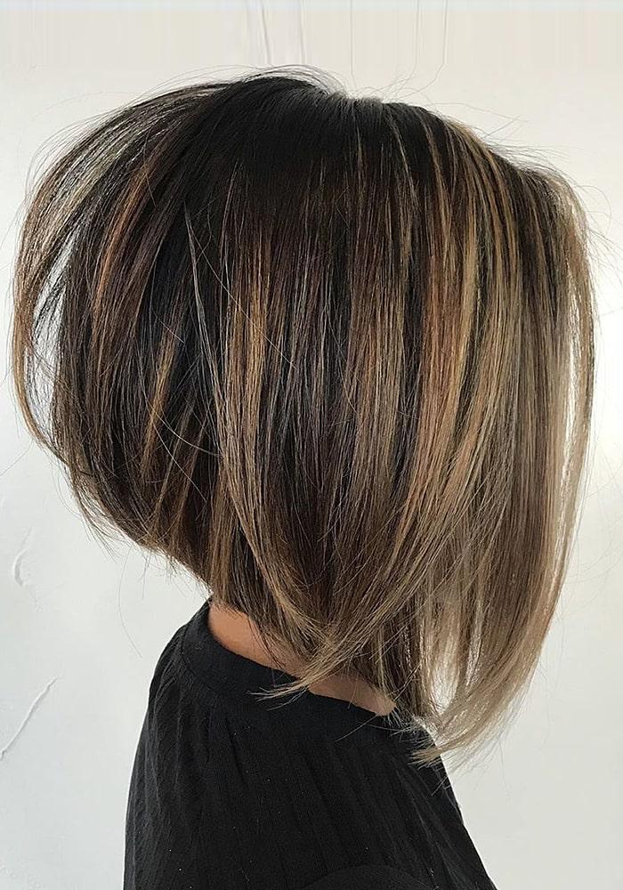 стрижки на средние волосы боб каре