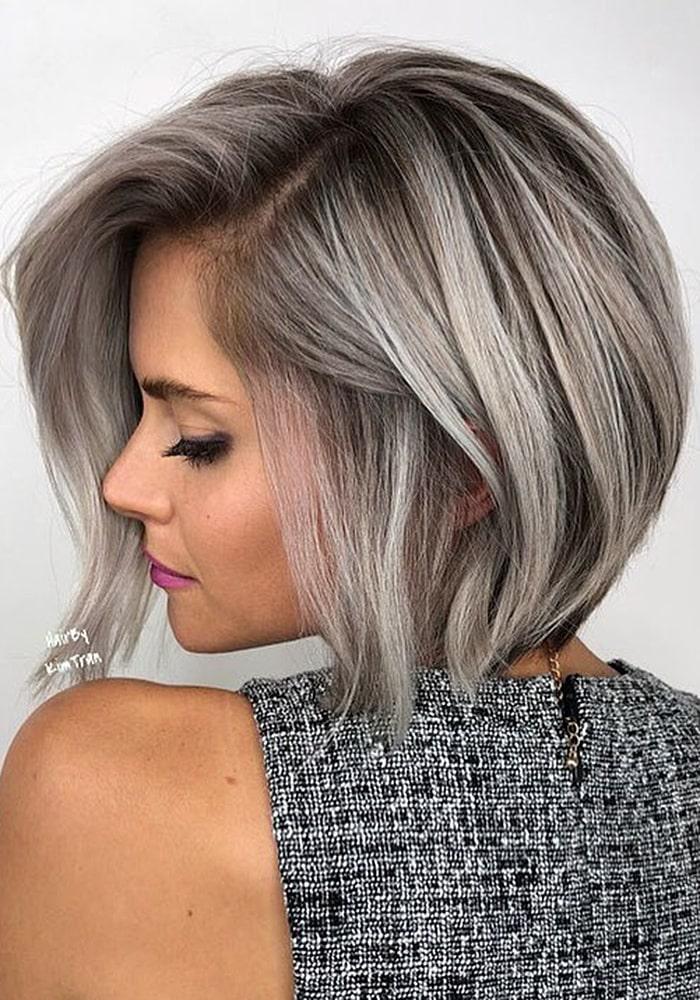 стрижки на средние волосы длинный боб