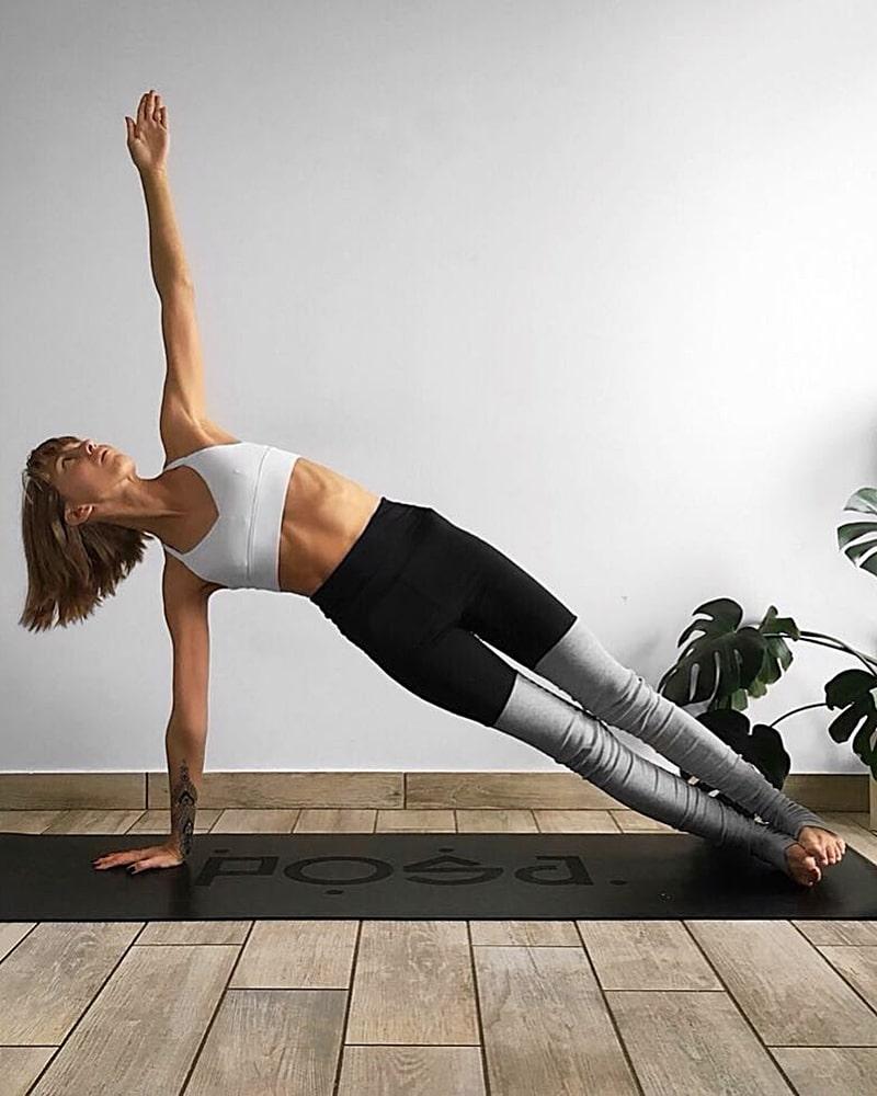упражнения для похудения планка боковая