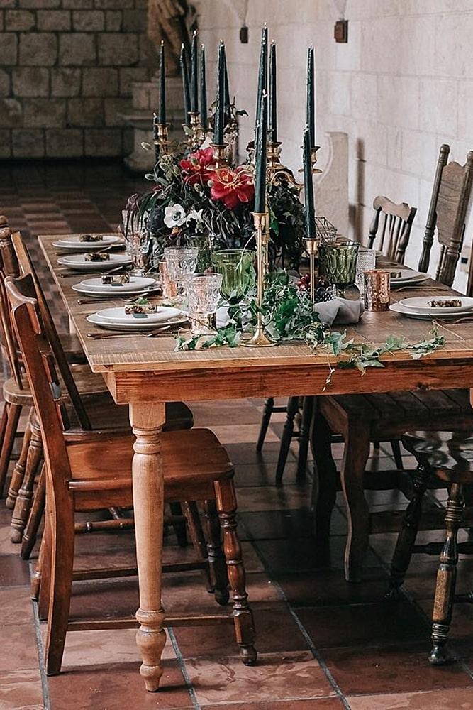 игра престолов свадьба декор стол для банкета