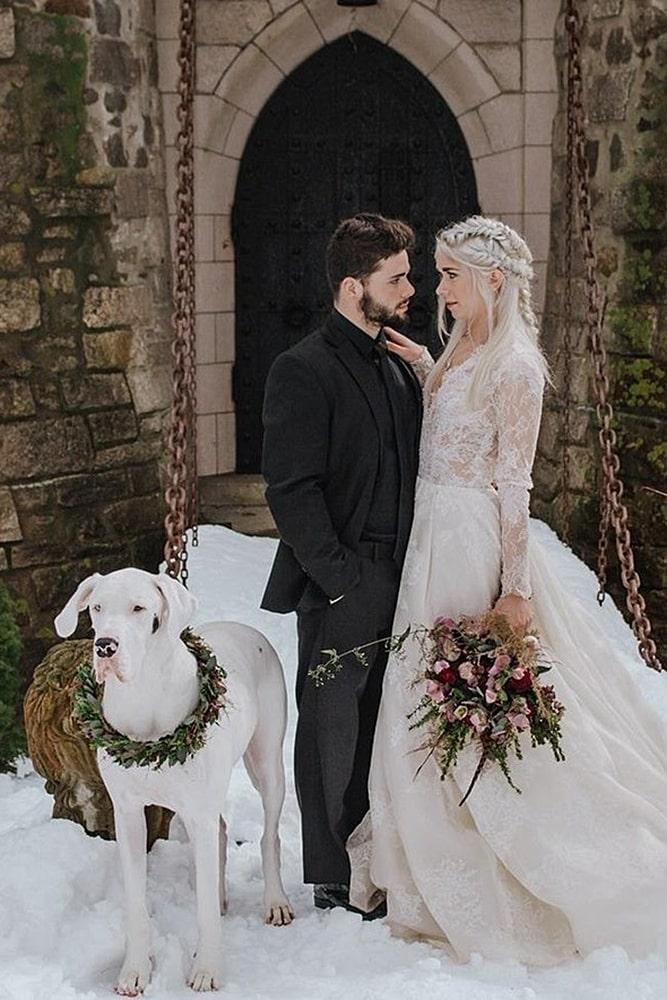 игра престолов свадьба пара молодоженов в образах
