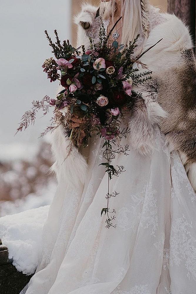 игра престолов свадьба свадебный букет декор