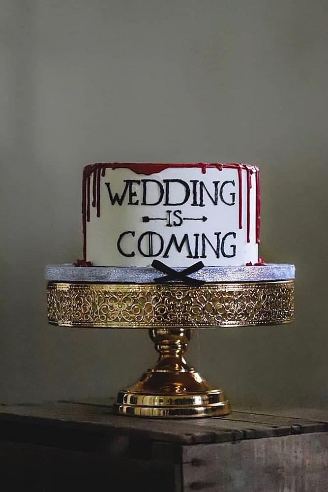 игра престолов свадьба торт декор