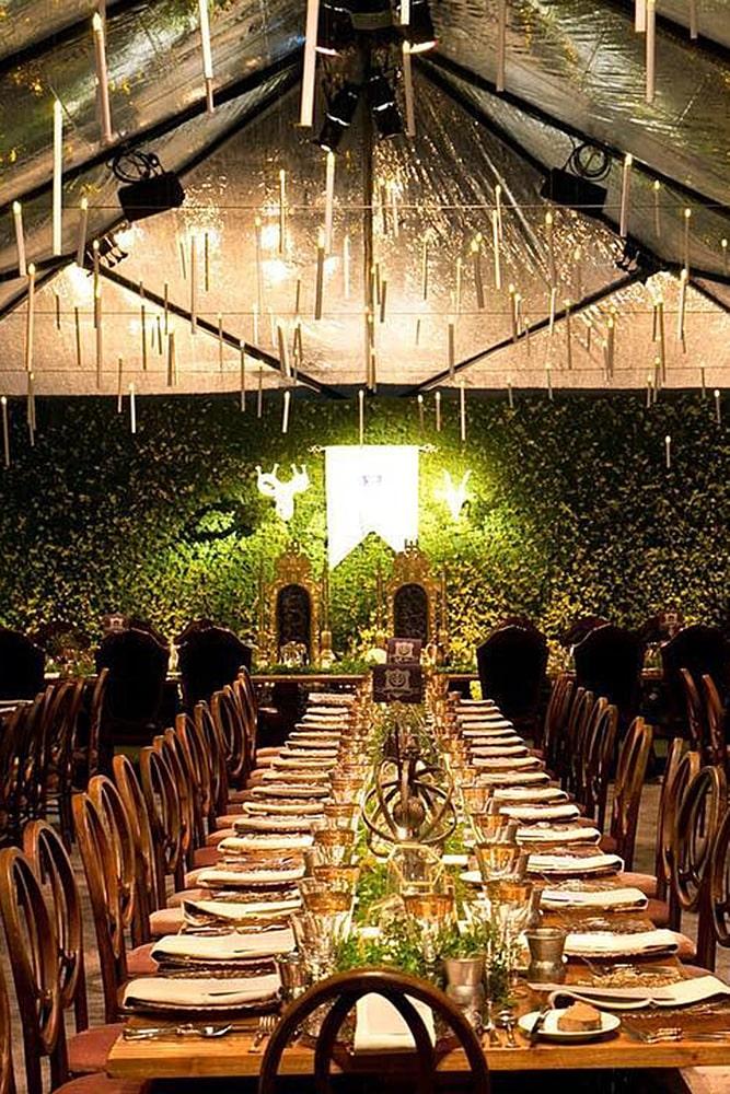 игра престолов свадьба шатер банкет декор