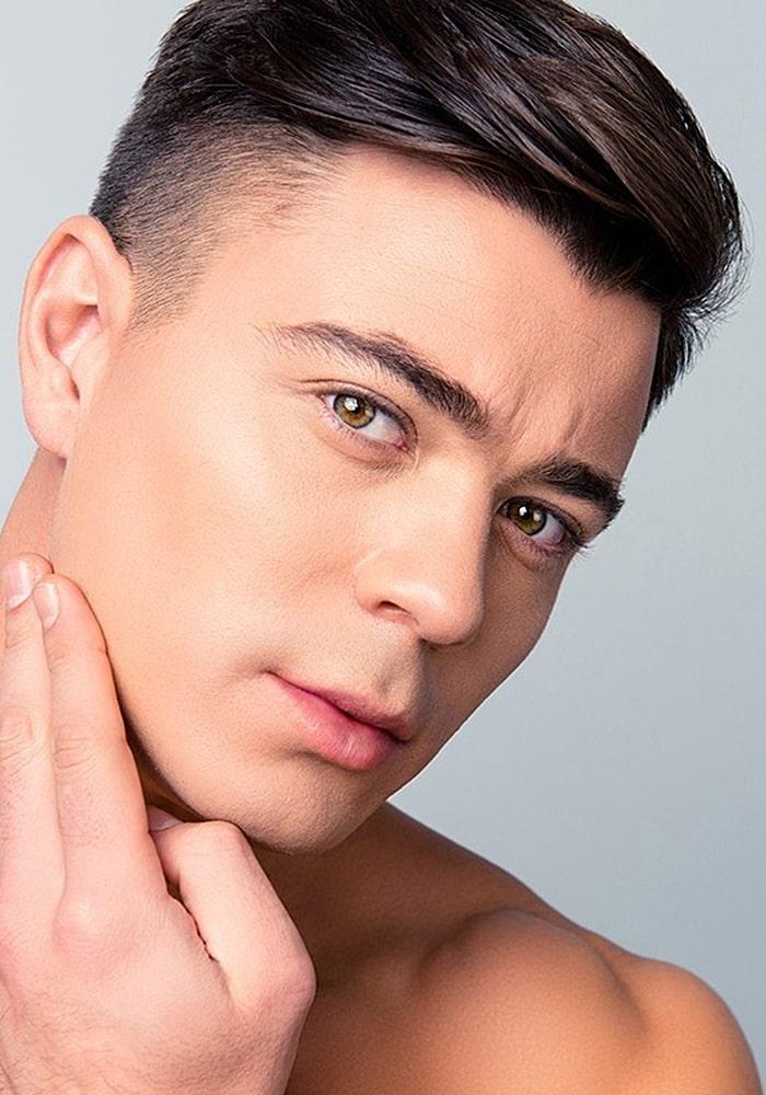 форма бороды бритье