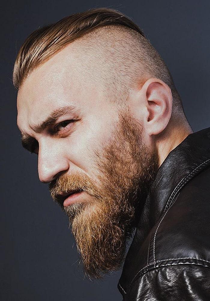 форма бороды утиный