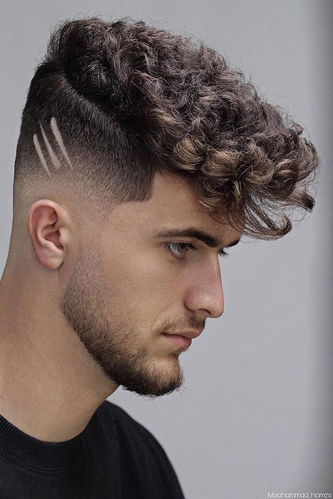 мужские стрижки волнистые волосы