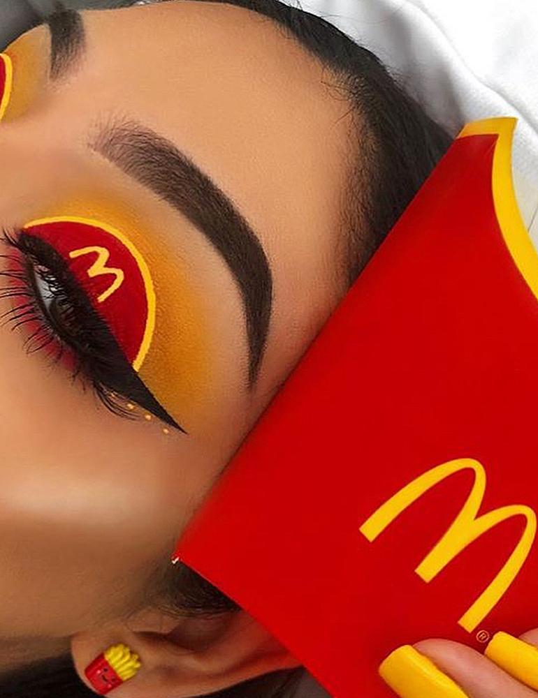 грим на хэллоуин грим макдональдс