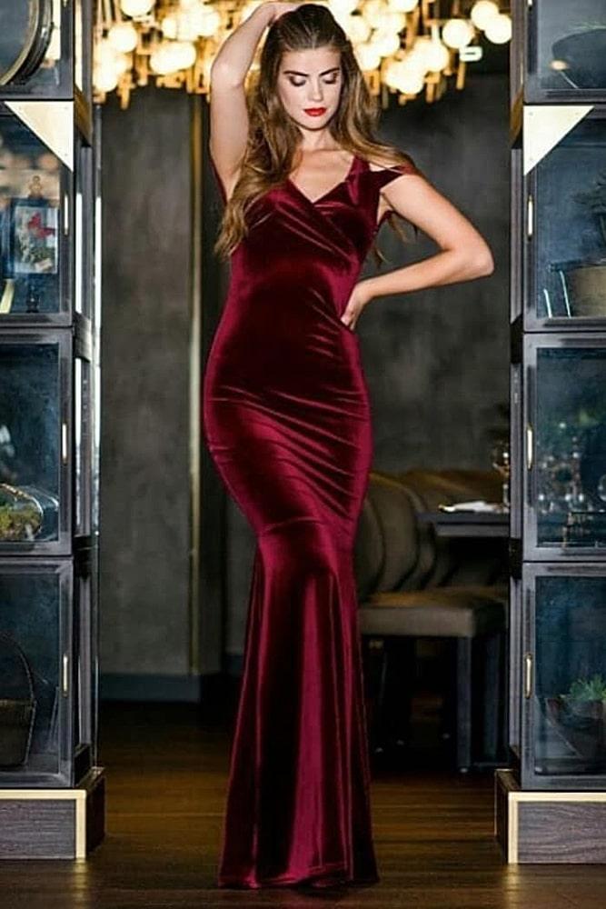 коктейльные платья винный бархат