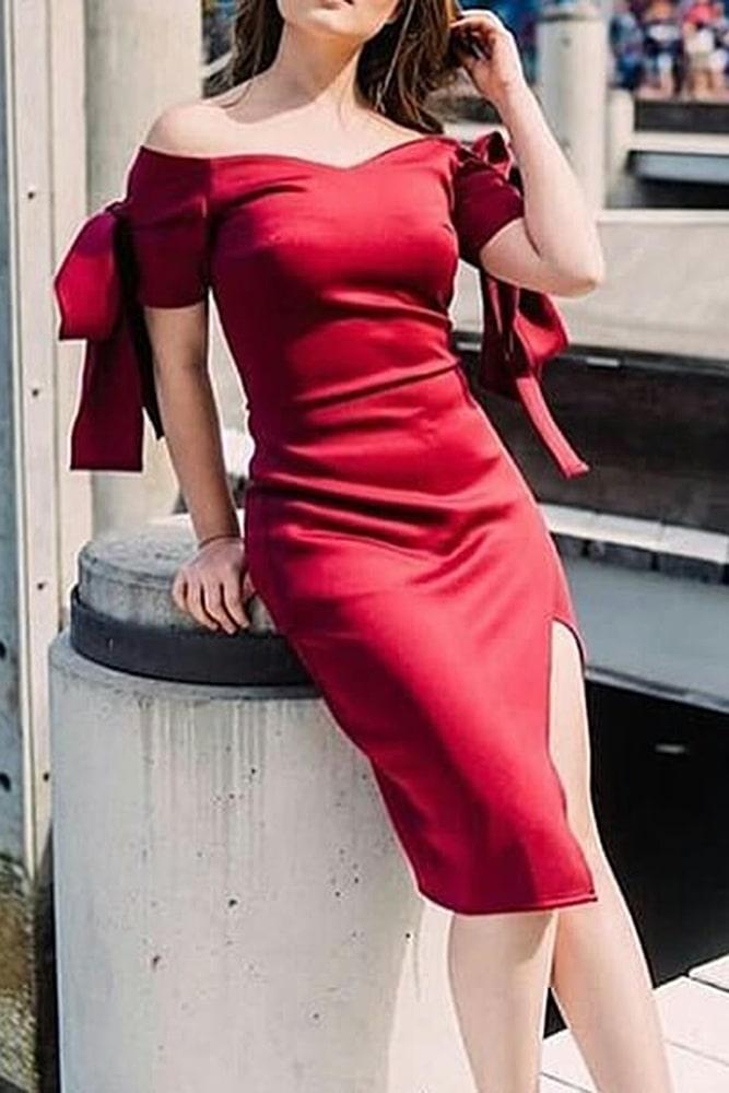 коктейльные платья винное