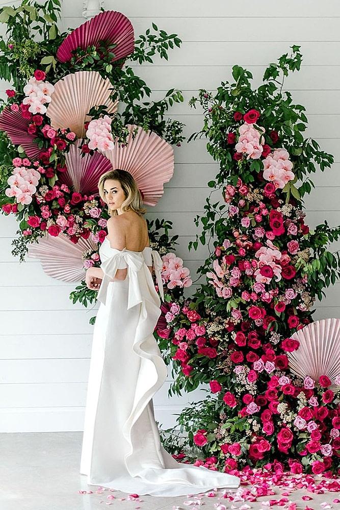 декор свадьбы цветочный -декор настенный декор