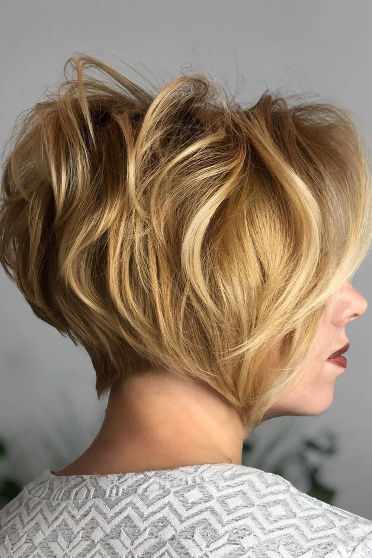 модные стрижки блонд