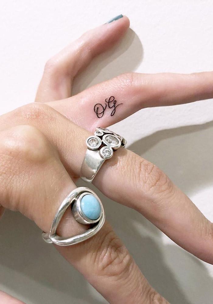 маленькие татуировки на руке