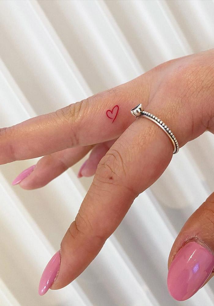 маленькие татуировки сердце