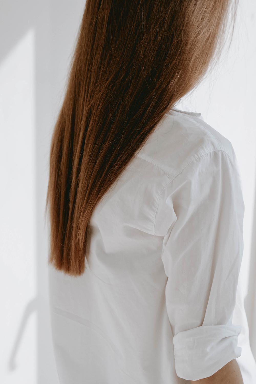 выпадение волос длинные ровные гладкие волосы